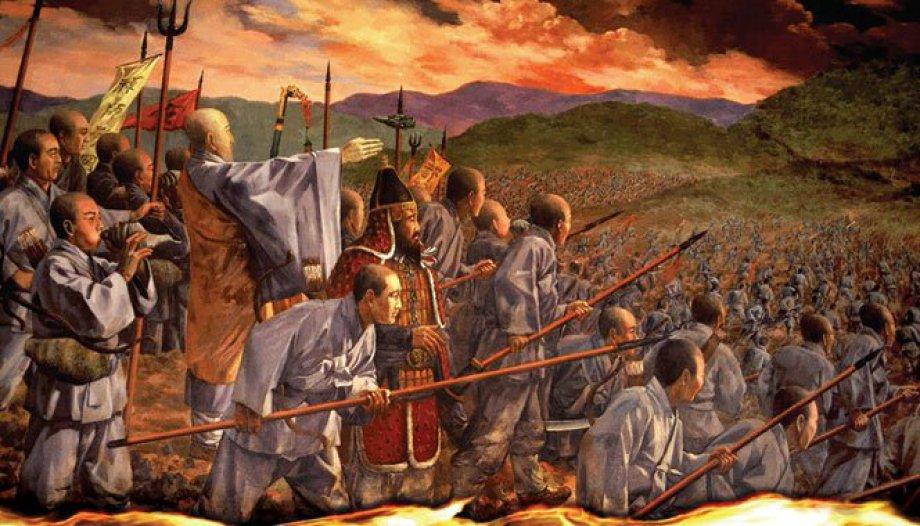 Warrior Mönche Shaolin